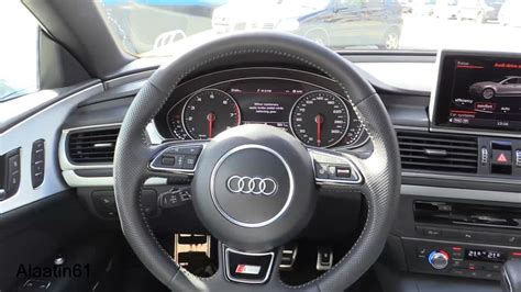 audi a7 interior audi a7 sportback 2017 interior review test drive