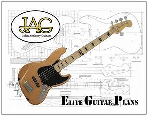 Luthiers Plans To Build This Fender 5 String Jazz Bass Guitar