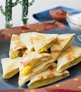 Perfect Cheese Quesadillas | Tina Wasserman
