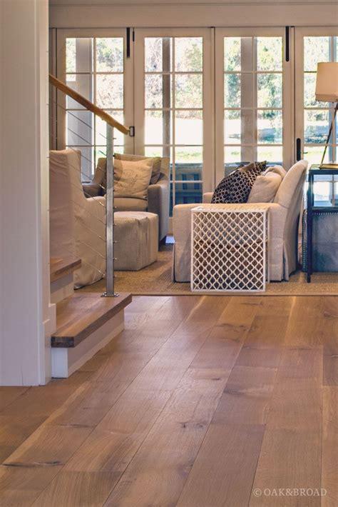 wide plank white oak flooring  nashville tn modern