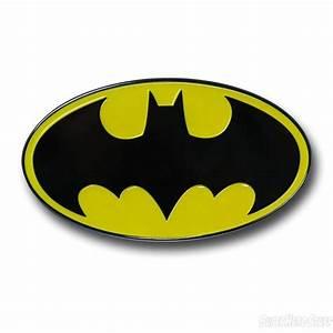 Batman Symbol Trailer Hitch Plug