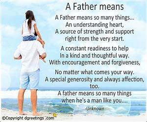 """Short """"Happy Fathers Day Poems"""" from Daughter & Son to Dad ..."""