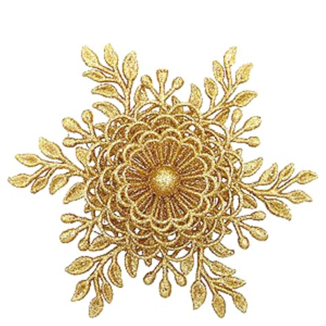 Transparent Background Gold Snowflake Png by Golden Flowers 3d 695 1 Kb Images H 483569746