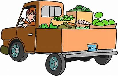 Truck Produce Trucks Bank Services Animations