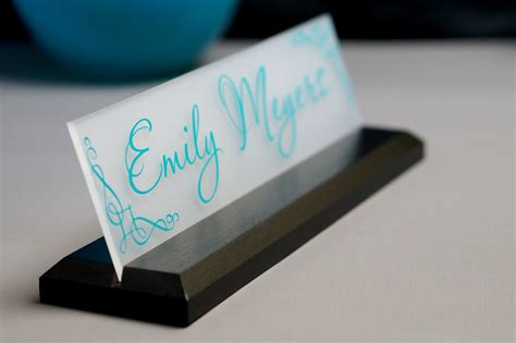 desk name plate designs desk name plate office supply personalized secretary sign gift