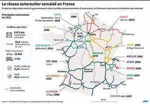 Carte De France Autoroute : afpfr infographie carte de france des autoroutes conc d es afp au plus t t dans 14 ans ~ Medecine-chirurgie-esthetiques.com Avis de Voitures