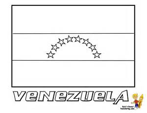 HD wallpapers coloring page of venezuela flag