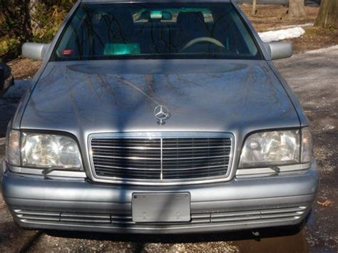 Find Used Mint Oregon 1995 Mercedes-benz S350 Td Diesel