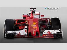 Compare the new 2017 Ferrari with last year's model · F1
