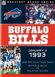 NFL Game Archives: Buffalo Bills Vs. Houston Oilers 1993 ...