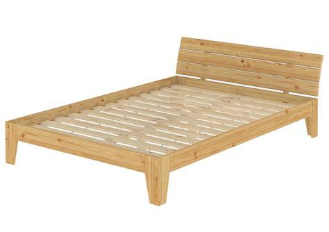 Doppelbett Ehebett Bettgestell Massivholz Futon Bett