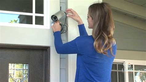 How To Install An Outdoor Wireless Camera  Link