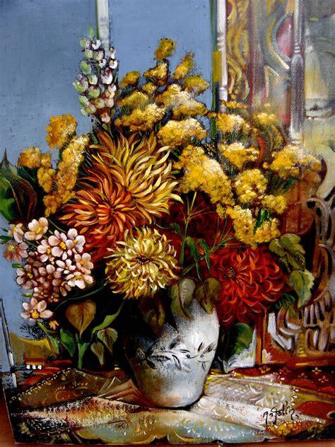 fleur peintre en provence