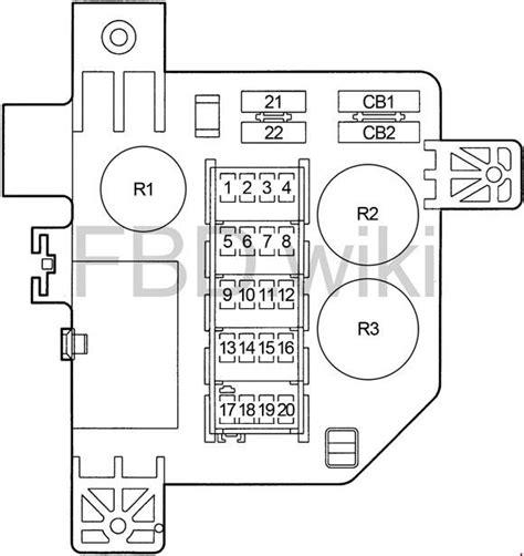 1994 Dodge Ram Fuse Box Diagram by 1994 2001 Dodge Ram 1500 2500 3500 Fuse Box Diagram 187 Fuse