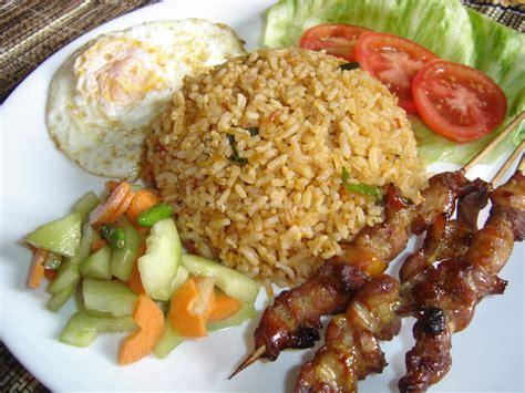 rice cuisine tasty food nasi goreng jawa