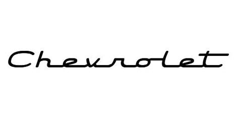 Chevrolet Font by Looking For Font The 1947 Present Chevrolet Gmc