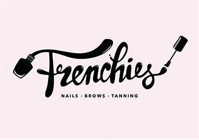 Nail Salon Nails Branding Frenchies Business Logos