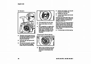 Stihl Ms 270 280 Chainsaw Owners Owners Manual