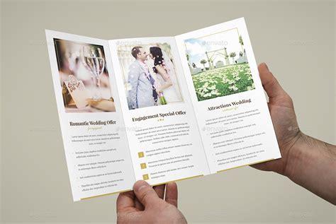 brochure hotel  wedding tri fold  artbart