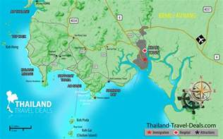 Krabi Beach Thailand Map