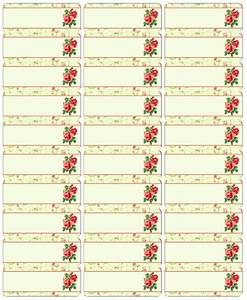 Avery 5160 Template For Mac Free Vintage Rose Label Printables By Birdsell
