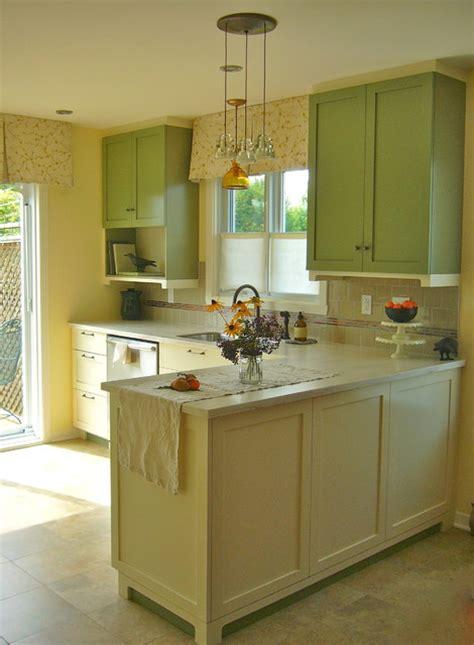 simple shaker kitchen  cream  olive kitchen