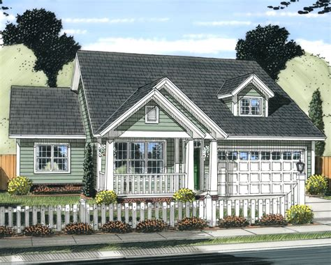 Cottage Style House Plan 3 Beds 2 Baths 1570 Sq/Ft Plan