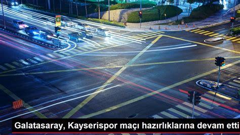 Galatasaray, Kayserispor maçı hazırlıklarına devam etti - Spor