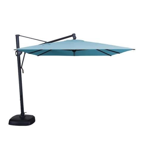 cantilever patio umbrellas treasure garden 10 foot square cantilever umbrella patio