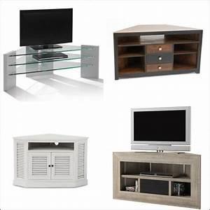 Meuble Angle Tv : meuble tv angle prix et choix avec le guide shopping kibodio ~ Teatrodelosmanantiales.com Idées de Décoration