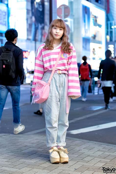 pink harajuku style  neon moon fancy surprise spank tokyo bopper tokyo fashion