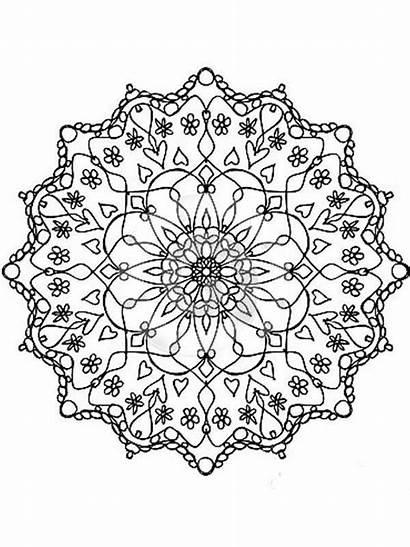 Flores Mandalas Colorear Pintar Mandala Relajantes Atrevete