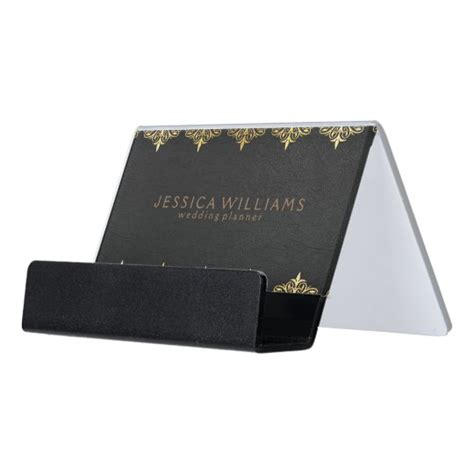 Just like your about us page template on your website. Black Leather & Ornate Floral Gold Frame Desk Business ...