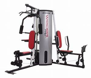Weider 2980 Workout Chart