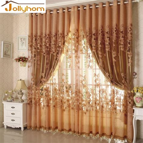 sale embroidered tulle lace curtain european high