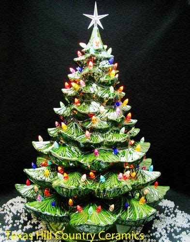 78 best images about ceramic christmas trees on pinterest