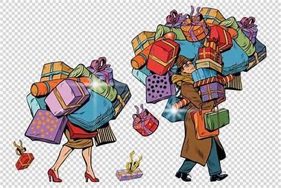 Holiday Uomo Donna Frau Ein Sales Paar