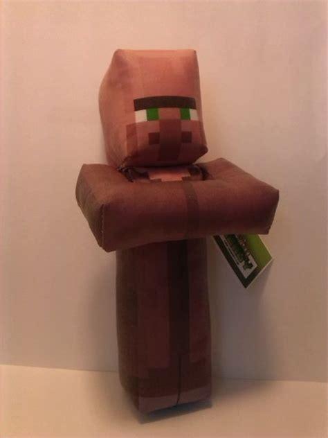 plush minecraft inspired villager toy gift ideas