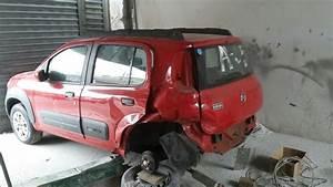 Uno Encherto Da Lateral E Longarina Trazeira    Fiat Uno