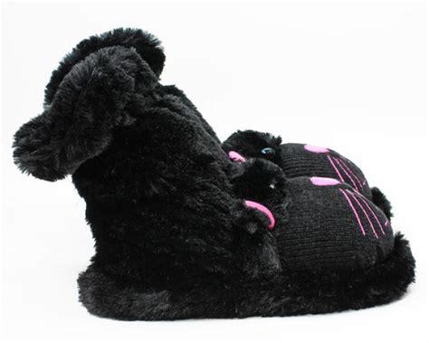 black cat slipper socks aroma home slippers cat slippers