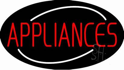 Neon Sign Appliances Signs Animated Prod Improvement