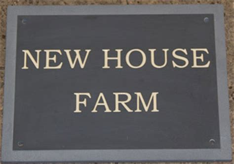 slate house signs plaques granite name plates