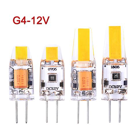 new dimmable g4 led l 3w 6w mini led g4 bulb dc ac 12v