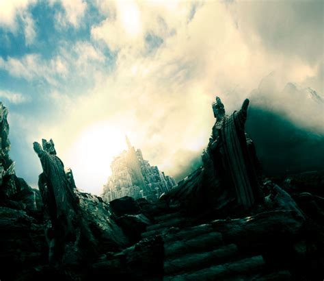 Lord Of The Rings Minas Tirith By Dutchmilk On Deviantart