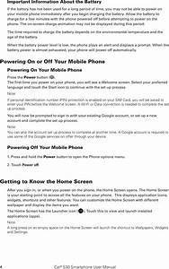 Bullitt Group S30 Rugged Smart Phone User Manual