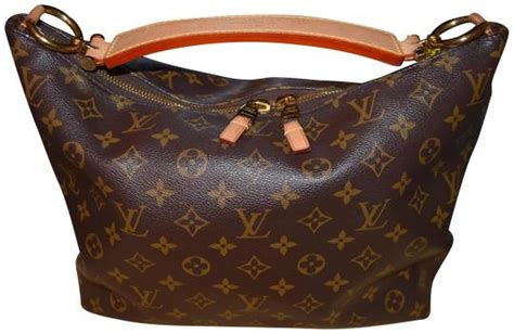 louis vuitton nice sully discontinued zipper monogram