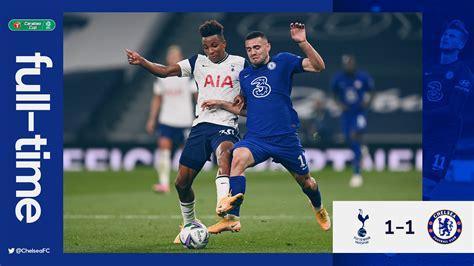 Tottenham vs Chelsea 1-1 (Pen 5-4) – Highlights [DOWNLOAD ...