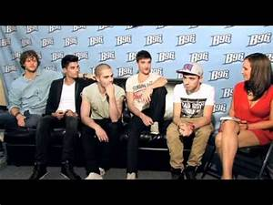 Backstage Interview with The Wanted Summerbash Part 2 ...