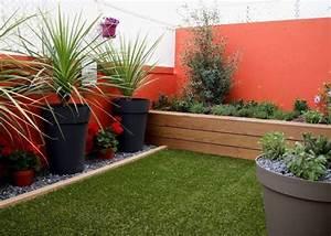 terrasses patios balcons With amenagement d un petit jardin de ville 14 amenager un coin bureau dans son salon