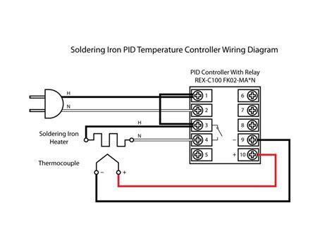 dual digital rkc pid temperature controller rex c100 with